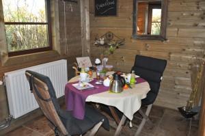 Petit déjeune chambre d'hôtes