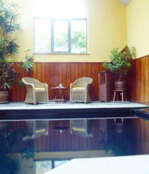 Une de nos terrasses intérieures au spa
